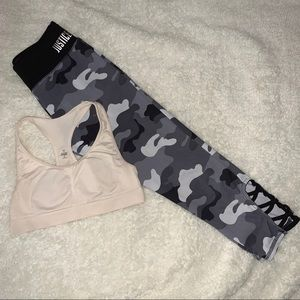 Justice | crop camo leggings